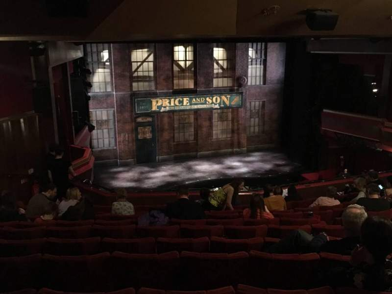 Seating view for Adelphi Theatre Section Dress Circle Row L Seat  31