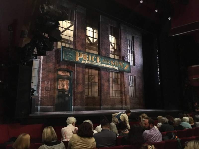 Seating view for Adelphi Theatre Section Stalls Row G Seat 34