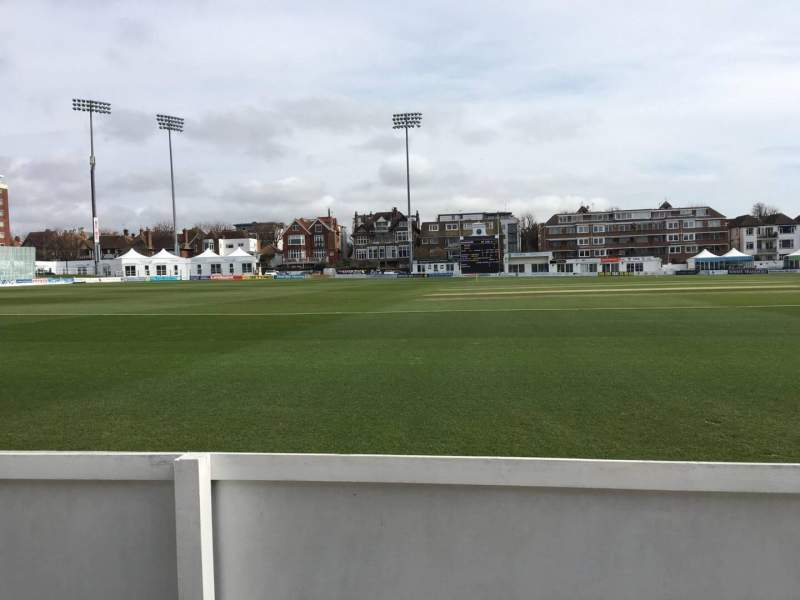 Seating view for County Cricket Ground (Hove) Section Grand Stand C Row A Seat 43