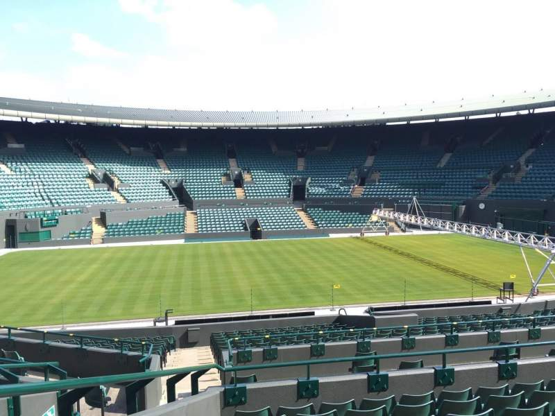 Seating view for Wimbledon, Court No. 1 Section 28 Row G Seat 195