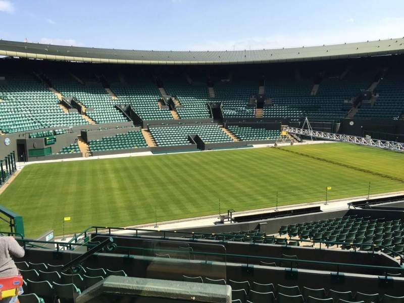 Seating view for Wimbledon, Court No. 1 Section 32 Row J Seat 280