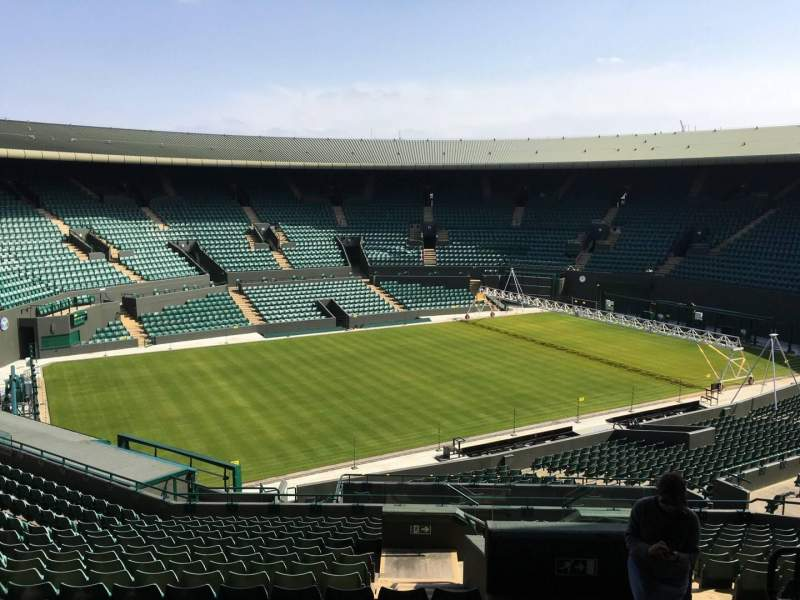Seating view for Wimbledon, Court No. 1 Section 37 Row R Seat 245