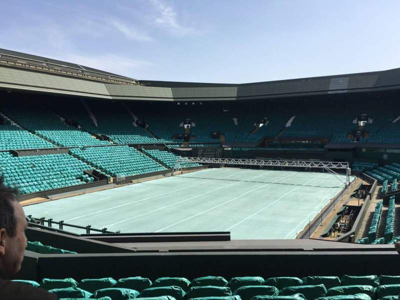 Seating view for Wimbledon, Centre Court Section 205 Row F Seat 156