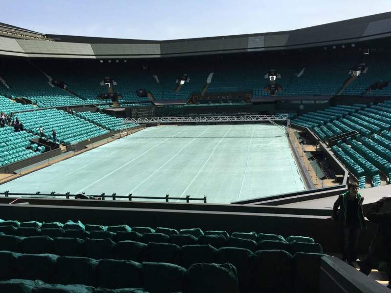 Seating view for Wimbledon, Centre Court Section 309 Row H