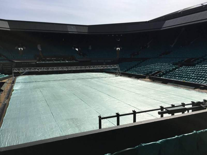 Seating view for Wimbledon, Centre Court Section 207 Row A Seat Aisle Seat