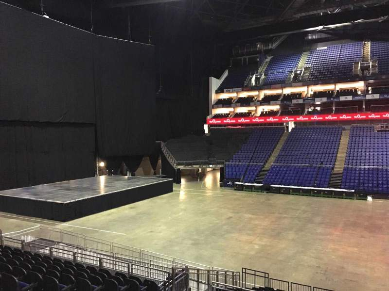 Seating view for The O2 Arena Section 102 Row T Seat 58