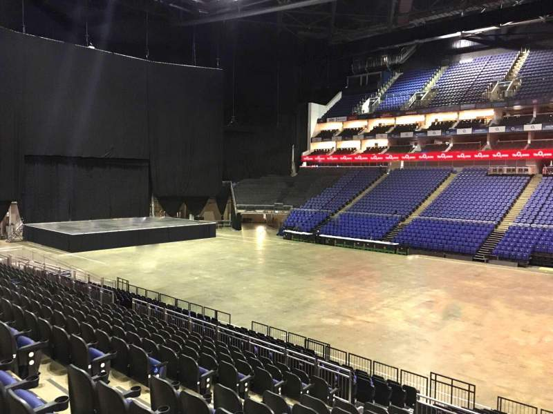 Seating view for The O2 Arena Section 103 Row T Seat 98
