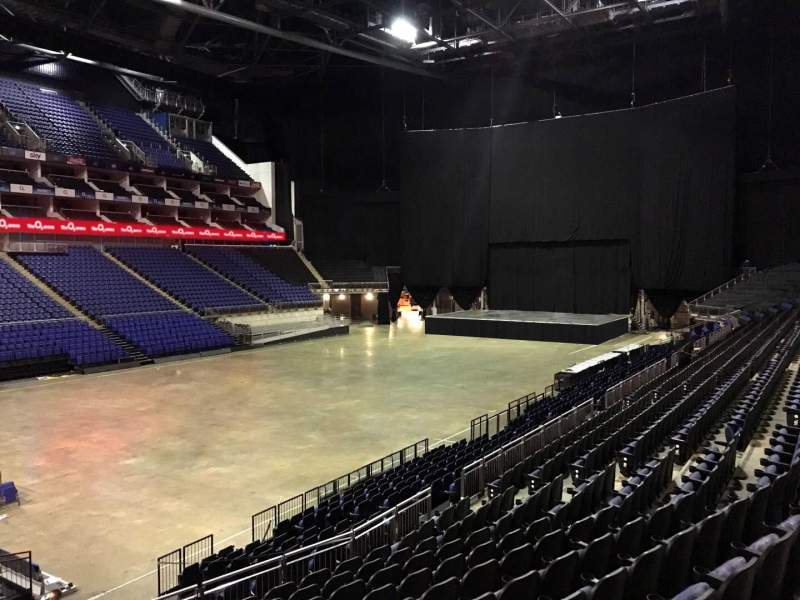 Seating view for The O2 Arena Section 109 Row T Seat 275