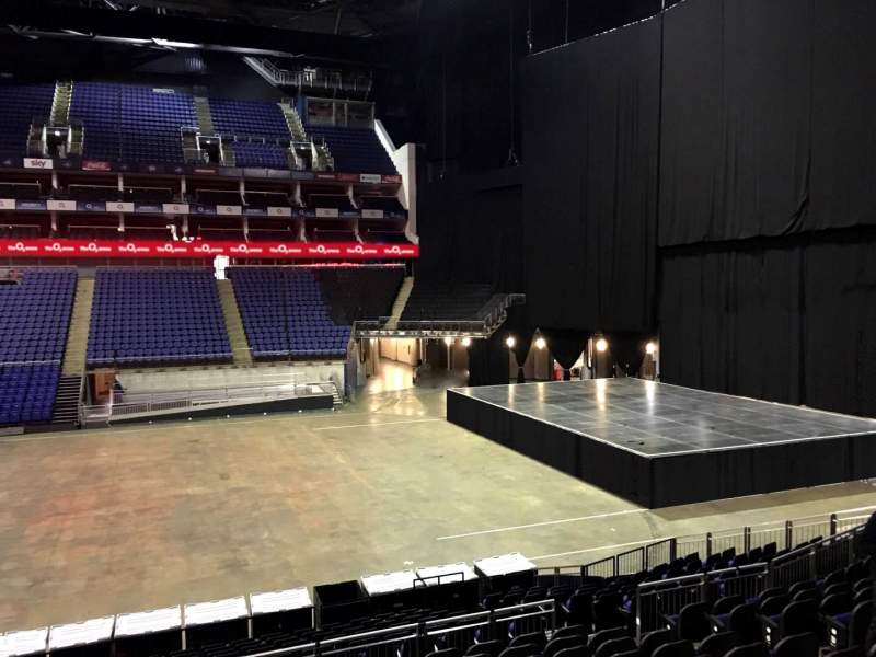 Seating view for The O2 Arena Section 112 Row T Seat 370