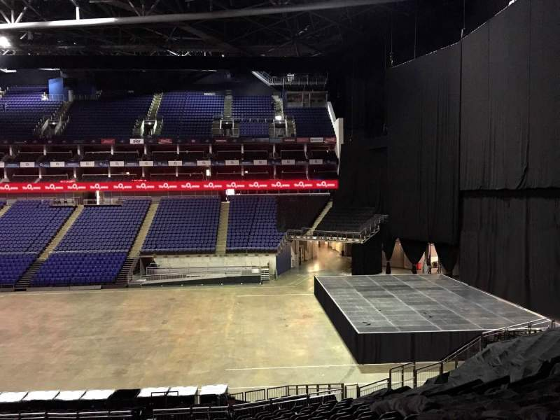 Seating view for The O2 Arena Section The Deck Row 1 Seat 92