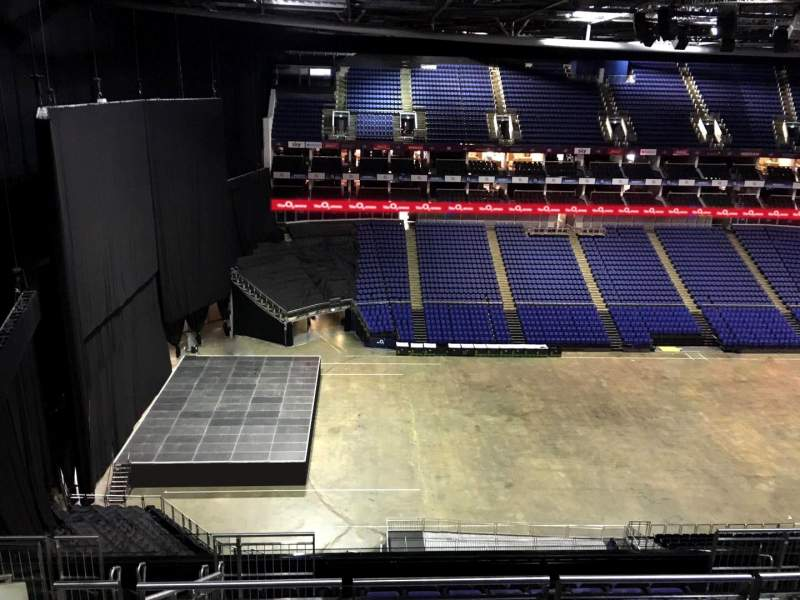 Seating view for The O2 Arena Section 401 Row L Seat 472