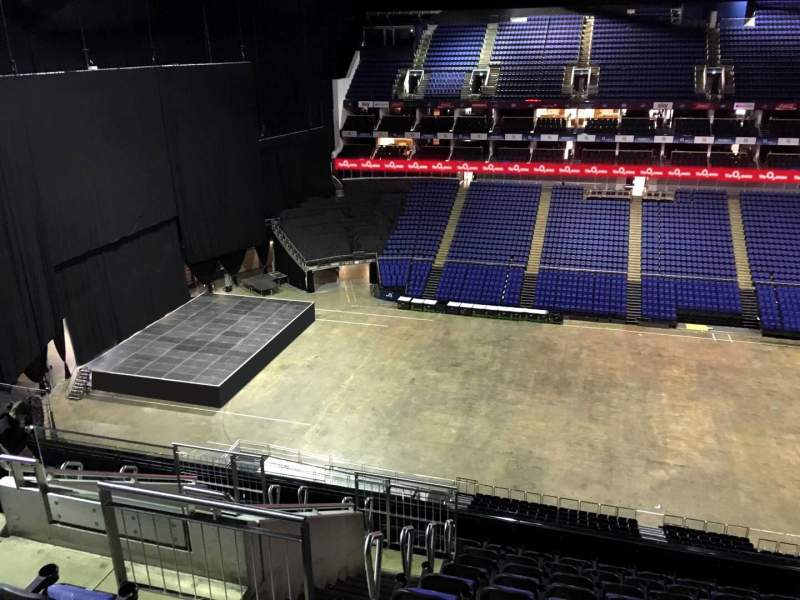 Seating view for The O2 Arena Section 403 Row L Seat 515