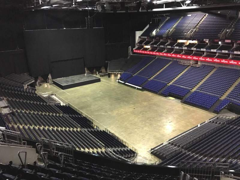 Seating view for The O2 Arena Section 408 Row L Seat 626