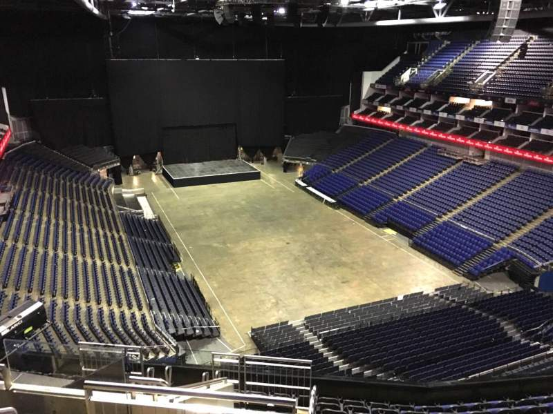 Seating view for The O2 Arena Section 409 Row L Seat 664