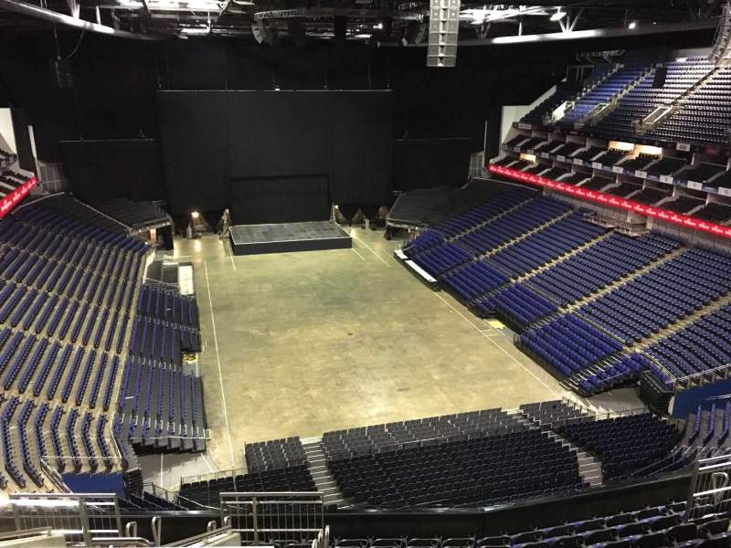 Seating view for The O2 Arena Section 410 Row L Seat 688