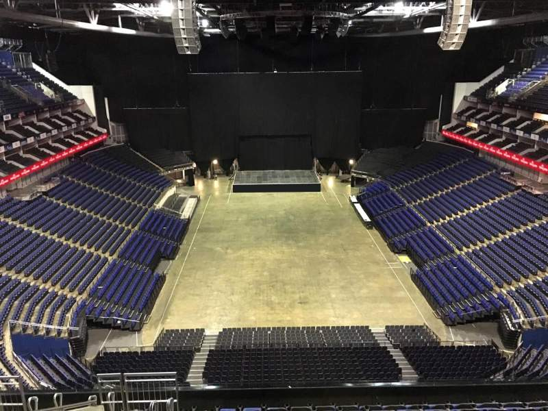 Seating view for The O2 Arena Section 411 Row L Seat 714