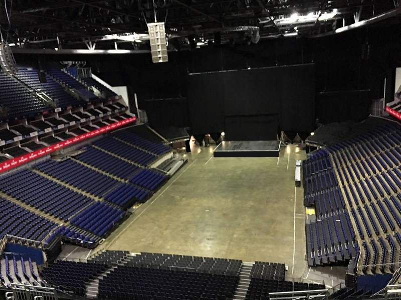 Seating view for The O2 Arena Section 413 Row L Seat 748