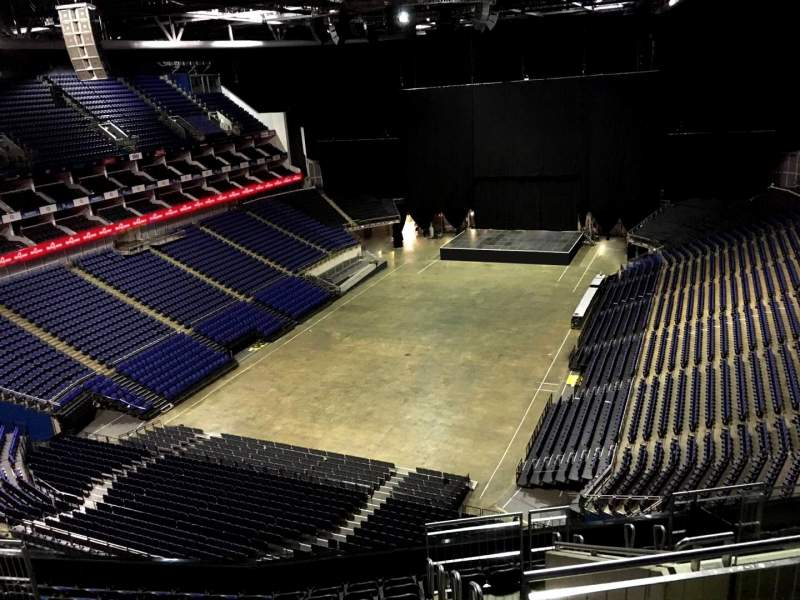 Seating view for The O2 Arena Section 414 Row L Seat 772
