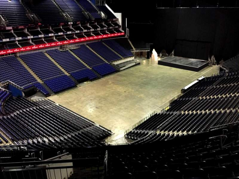 Seating view for The O2 Arena Section 415 Row L Seat 809