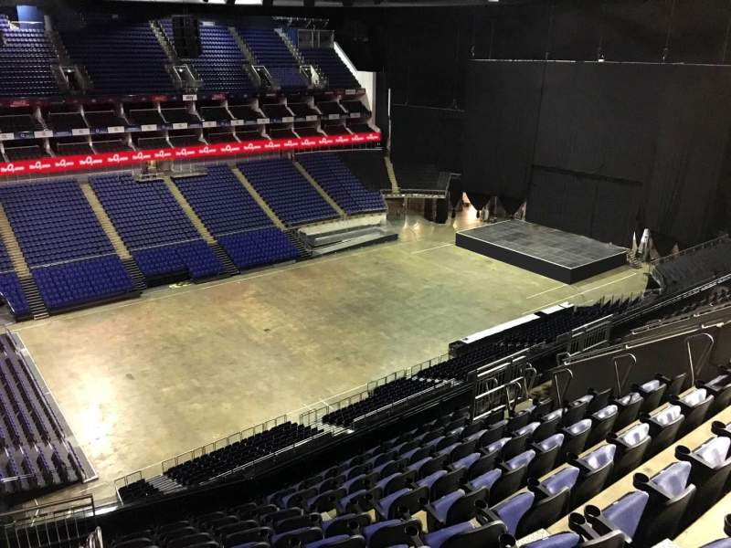 Seating view for The O2 Arena Section 417 Row L Seat 858