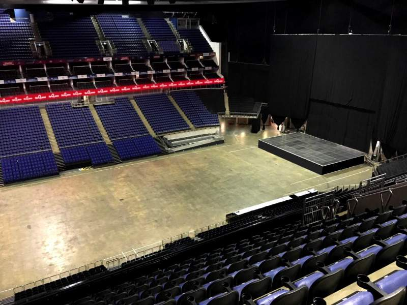 Seating view for The O2 Arena Section 418 Row L Seat 884