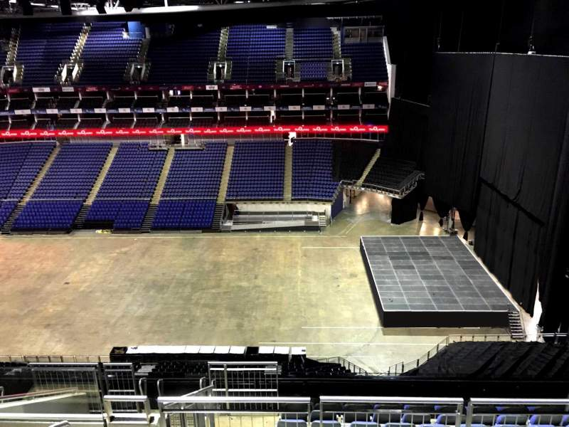 Seating view for The O2 Arena Section 421 Row L Seat 960