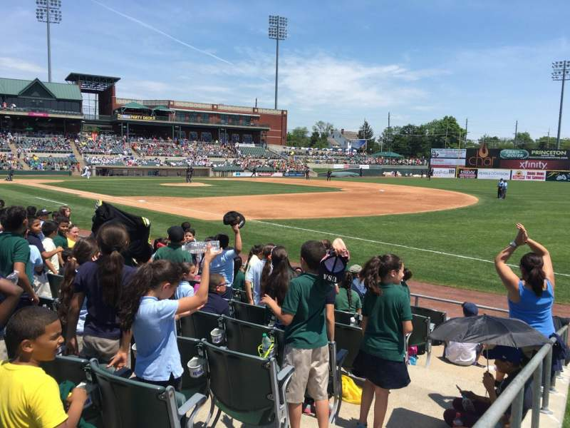 Seating view for TD Bank Ballpark Section Lawn