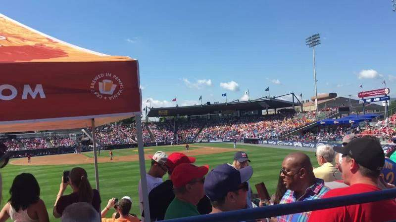 Seating view for FirstEnergy Stadium (Reading) Section Coors Light Deck
