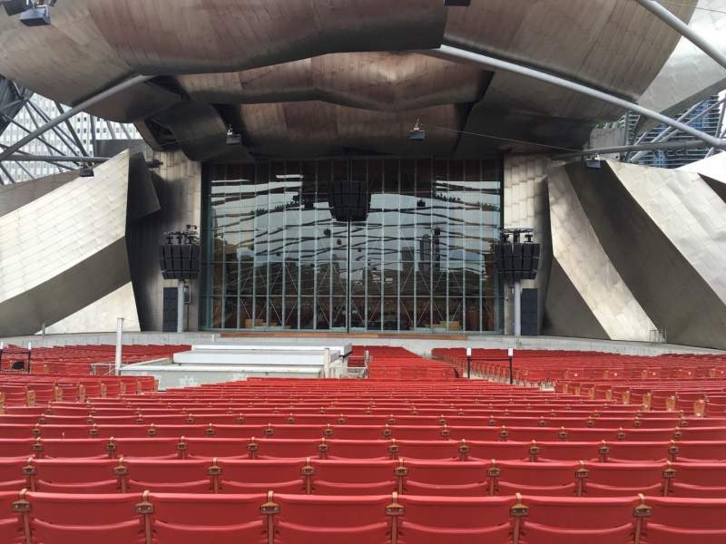 Seating view for Jay Pritzker Pavilion Section 204 Row Tt Seat 8