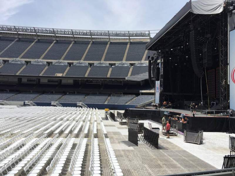 Seating view for Soldier Field Section 104 Row 5 Seat 9