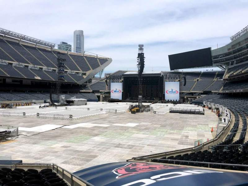 Seating view for Soldier Field Section 119 Row 12 Seat 12