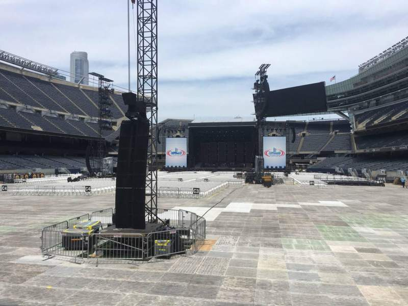 Seating view for Soldier Field Section 121 Row 5 Seat 15