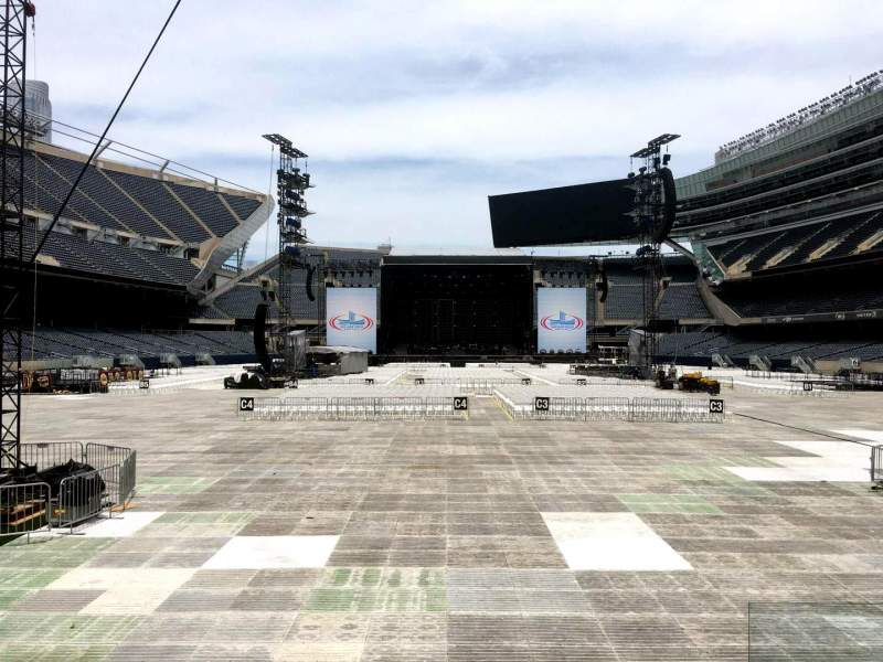 Seating view for Soldier Field Section 123 Row 5 Seat 18