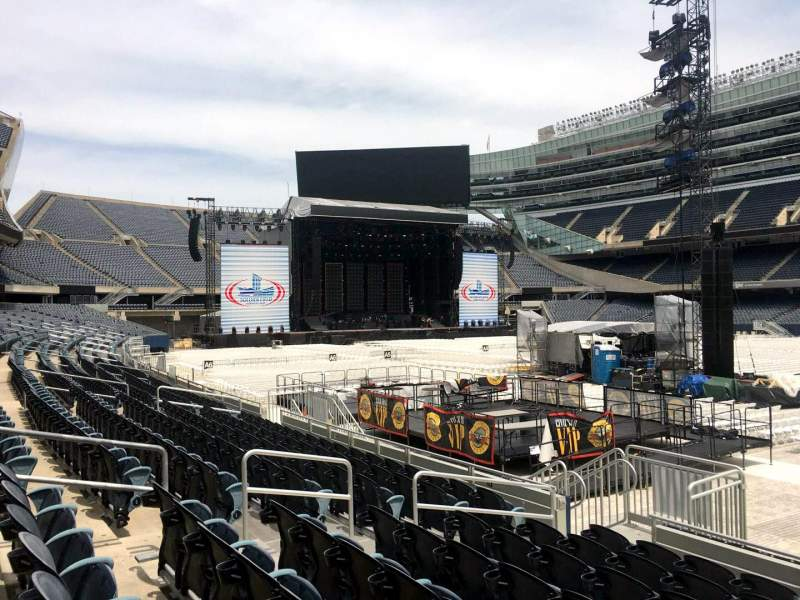 Seating view for Soldier Field Section 132 Row 8 Seat 8