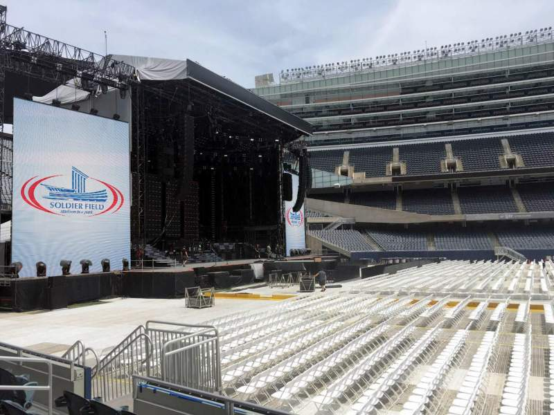 Seating view for Soldier Field Section 141 Row 5 Seat 10