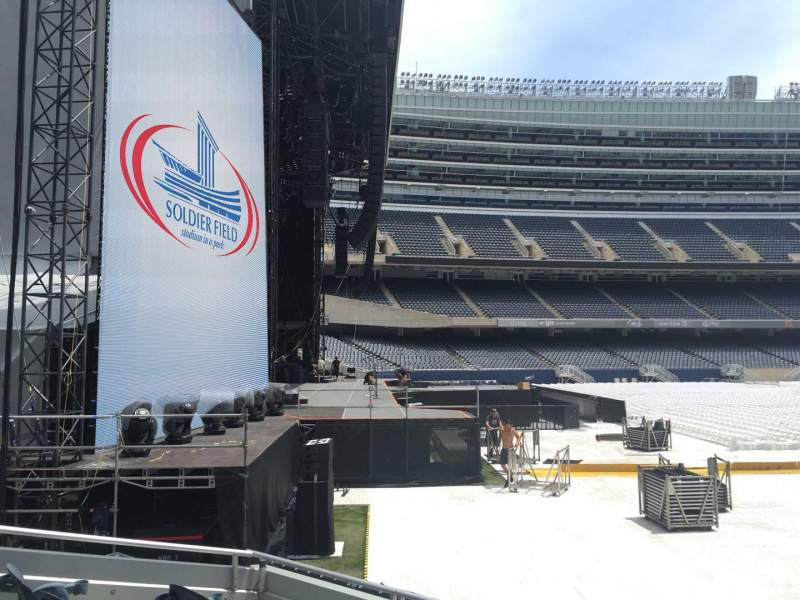 Seating view for Soldier Field Section 146 Row 5 Seat 20