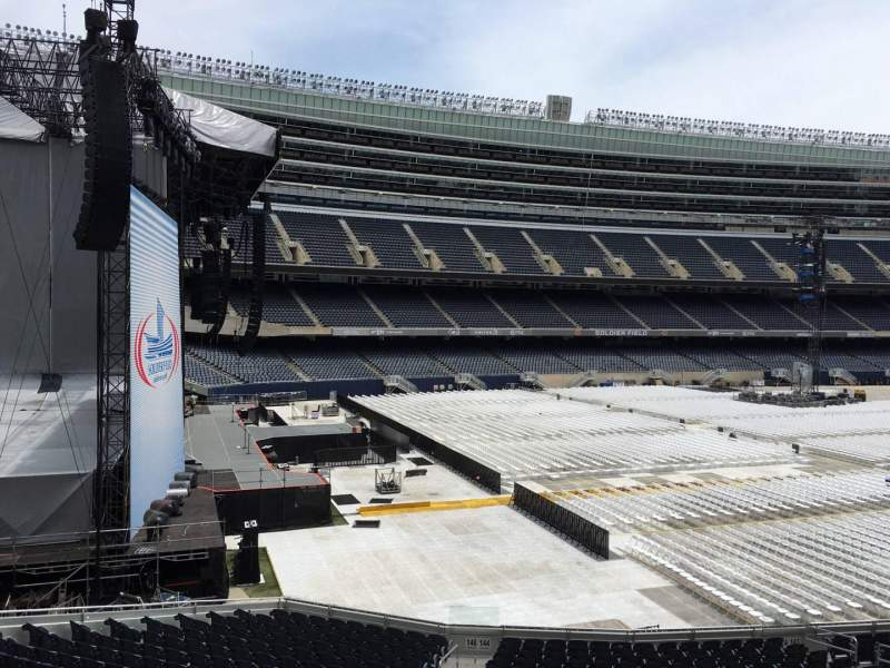 Seating view for Soldier Field Section 244 Row 3 Seat 16