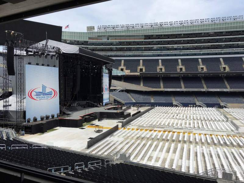 Seating view for Soldier Field Section 241 Row 3 Seat 10
