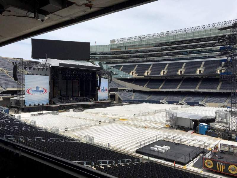 Seating view for Soldier Field Section 235 Row 3 Seat 9