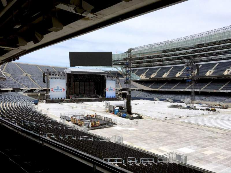Seating view for Soldier Field Section 231 Row 3 Seat 10