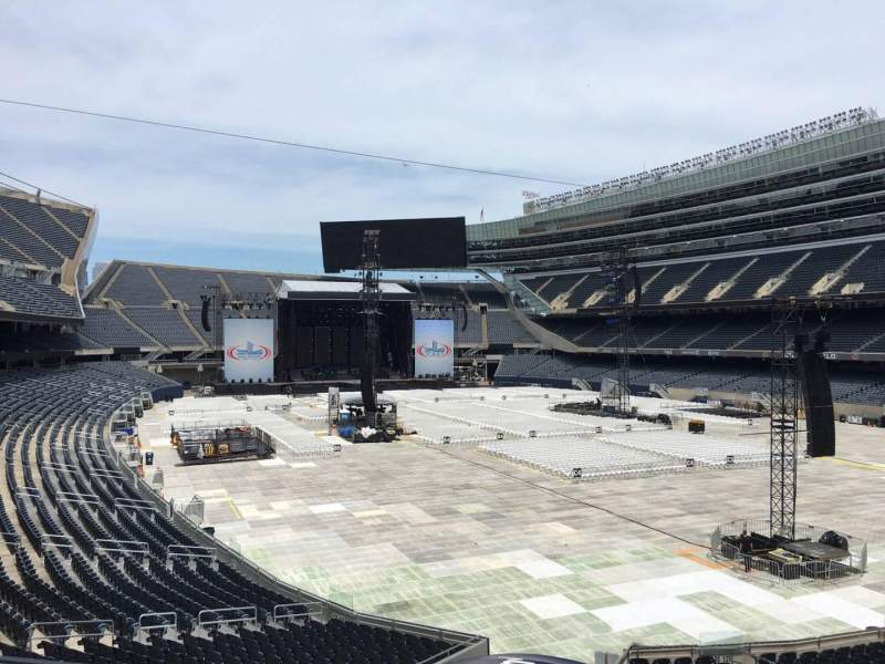 Seating view for Soldier Field Section 226 Row 6 Seat 10