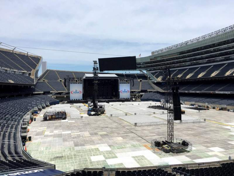 Seating view for Soldier Field Section 225 Row 5 Seat 7
