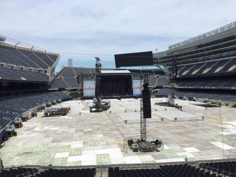 Seating view for Soldier Field Section 225 Row 4 Seat 7