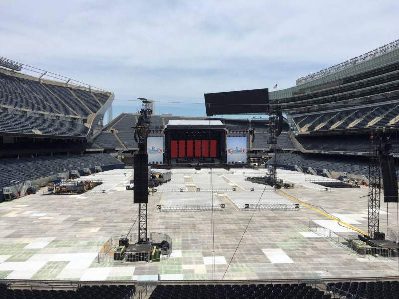 Seating view for Soldier Field Section 223 Row 5 Seat 9
