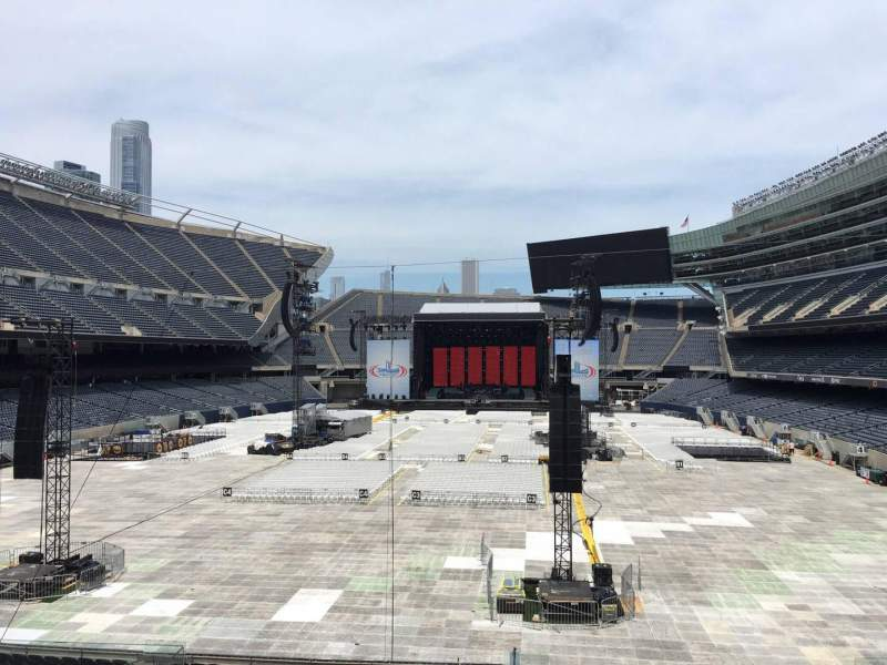 Seating view for Soldier Field Section 221 Row 5 Seat 5