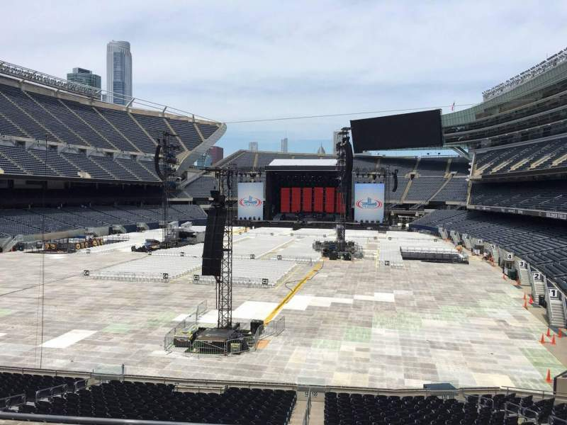 Seating view for Soldier Field Section 220 Row 5 Seat 8