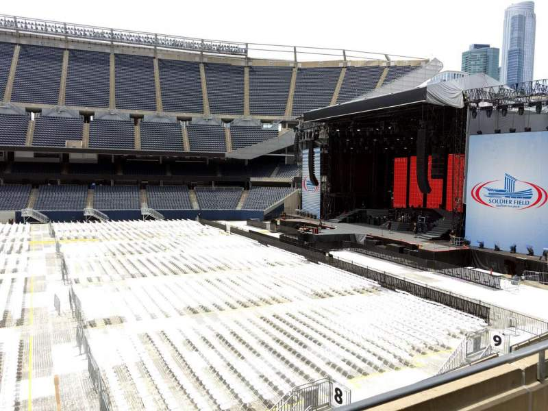 Seating view for Soldier Field Section 207 Row 3 Seat 10