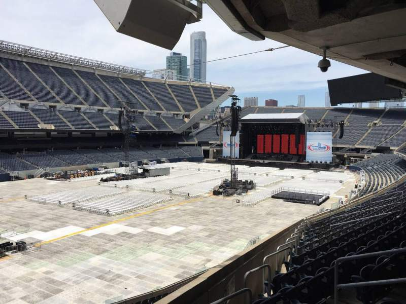Seating view for Soldier Field Section 216 Row 14 Seat 20