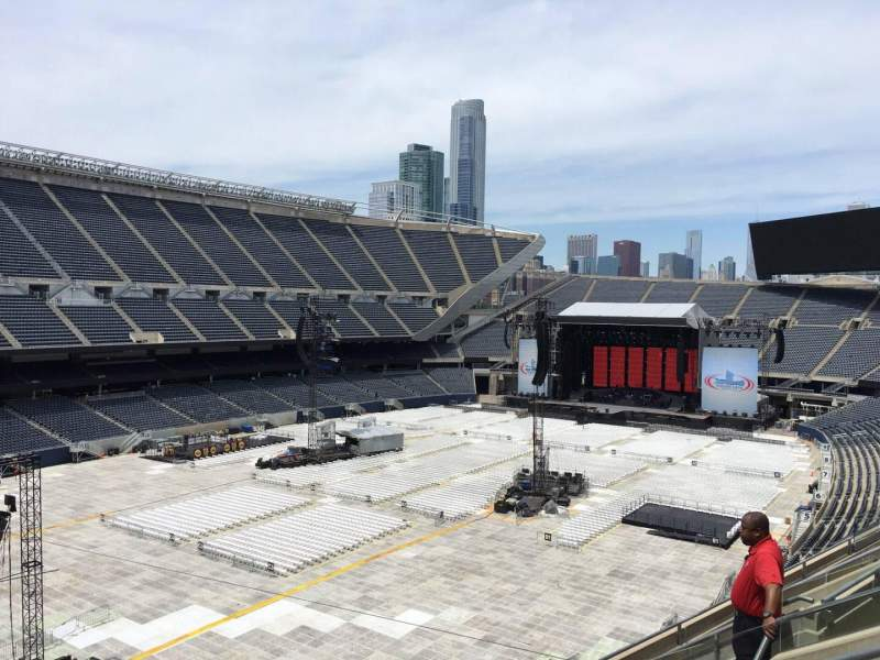 Seating view for Soldier Field Section 316 Row 7 Seat 12
