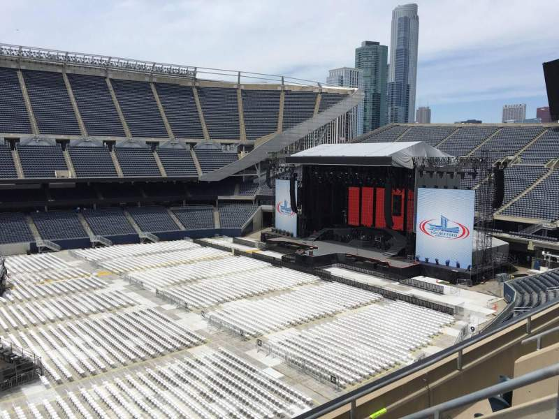 Seating view for Soldier Field Section 309 Row 4 Seat 5